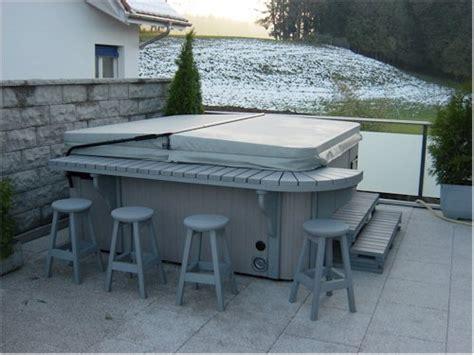 terrassen whirlpool whirlpoolcenter stohler inspirationen bilder