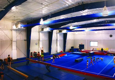 Pole Barn Home Interior by Recreational Steel Buildings Metal Gymnasiums Sports