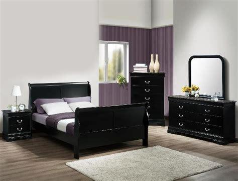 black bedroom suite louis philip marble 6 bedroom suite in black finish by crown b3780
