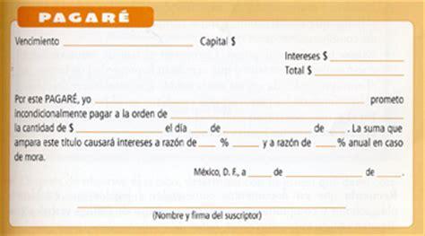 Machotes De Pagares | que es el pagare