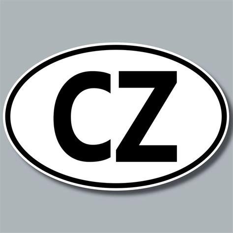 Auto Kaufen Tschechien by Aufkleber Auto Kennzeichen L 228 Nderkennzeichen Cz