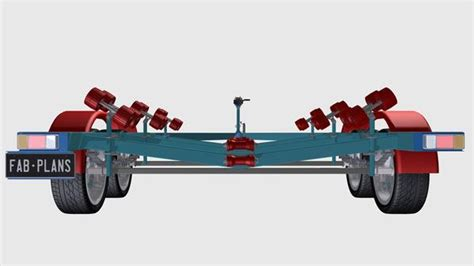 build your own boat trailer boat trailer plans build your own boat trailer fabplans