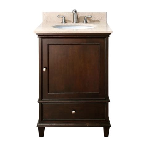 24 quot bathroom vanity walnut bathroom vanities