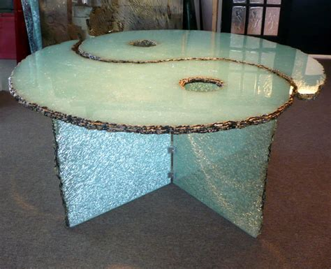 shattered glass table coffee tables ideas best shattered glass coffee table for