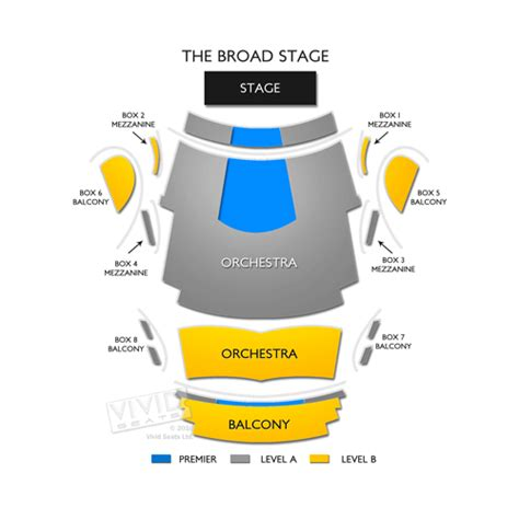 the broad stage seating chart seats