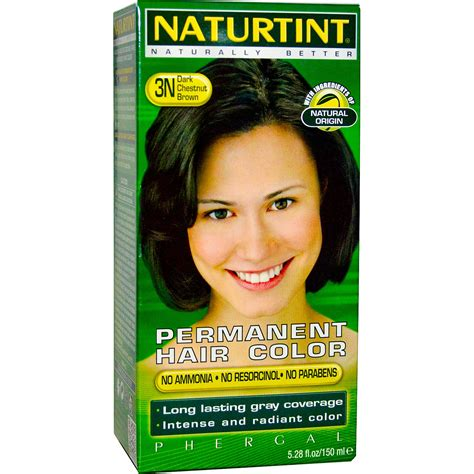 naturtint permanent hair color 3n chestnut brown 5