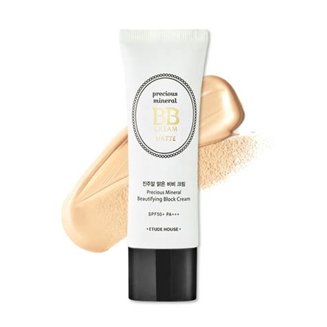 Etude House Precious Mineral Bb Moist Petal Spf50pa etude house bb foundation precious mineral beautifying block matte spf50 pa