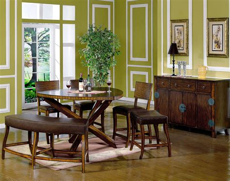 Solid Cherry Dining Room Furniture Rustic Modern Dining Room Tables Solid Wood Modern Dining Room Circle