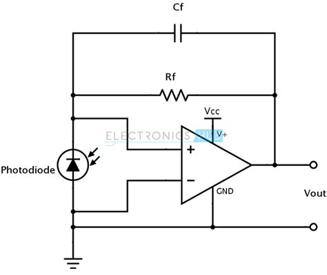 photodiode bias light sensor using ldr photodiode and phototransistor