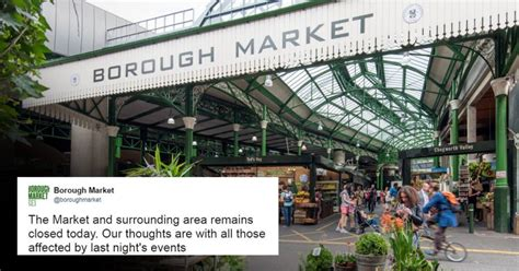 borough market attack borough market restaurants closed today after