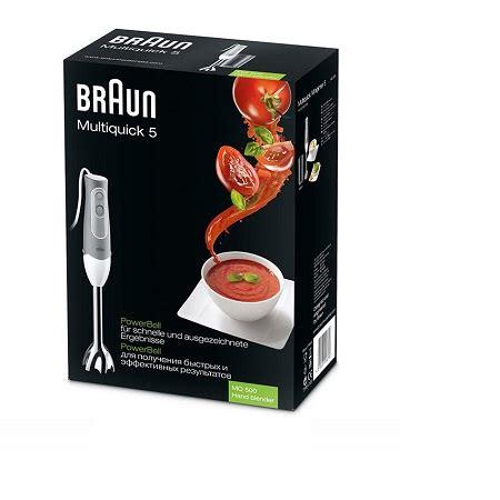 Braun Kitchen Appliances In Karachi by Buy Braun Multiquick Blender Mq 500 In