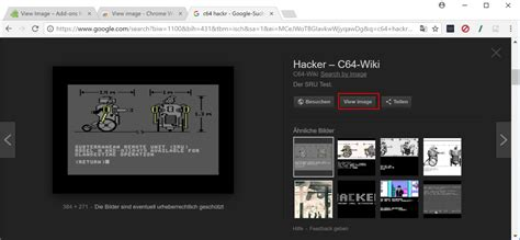 Google Images Viewer | view image for google images extension for firefox and