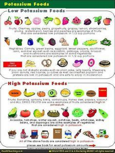 Low potassium diet on pinterest renal diet potassium rich foods an