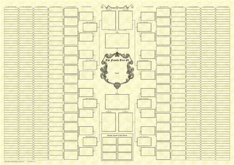 10 generation family tree template 10 generation monochrome bow tie chart family tree