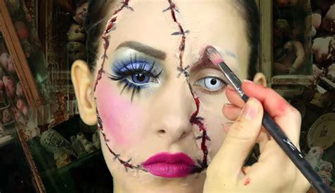 tutorial trucco zombie uomo trucchi per halloween spaventosi trucchi americani