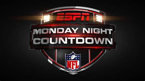 Monday Football Also Search For Monday Countdown Football