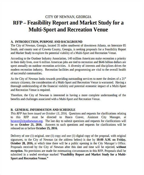 sle feasibility report business feasibility study report sle 28 images