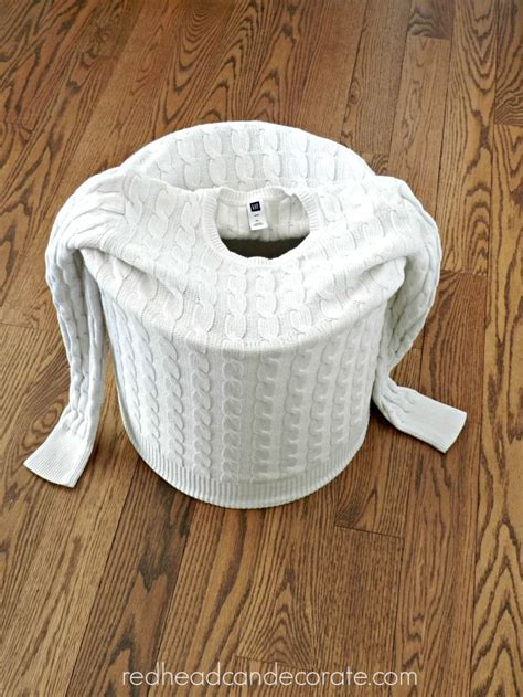 how to decorate an sweater make a lshade from an sweater home decor