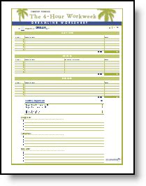 Jim Rohn Goal Setting Worksheet by Technotheory Dreamline Worksheet A Follow Up To The