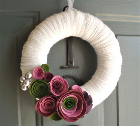 Handmade Door Decorations - diy wreath ideas 2015