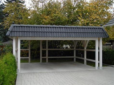 carport zum selber bauen carport selber bauen mehr als 70 ideen und