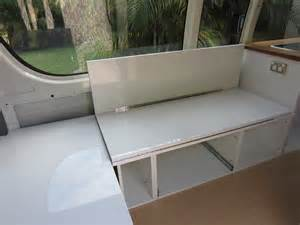 Murphy Bed Sofa Couch How To Convert Campervan Seating Into A Bed The