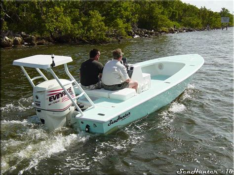 sea hunt boats accessories research 2009 sea hunter boats seahunter 18 on iboats