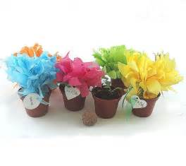 Wedding Favor Decorations by 12 Seed Bomb Wedding Favor Flowers Table Decorations