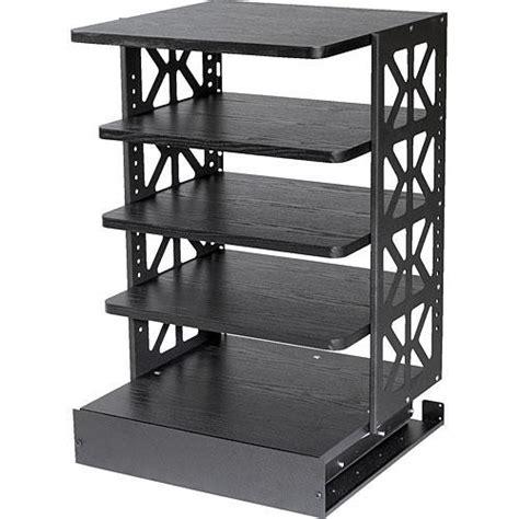 Rotating Shelf System by Raxxess Wrotr 30b Wood Rotating Rack System Black Wrotr 30b