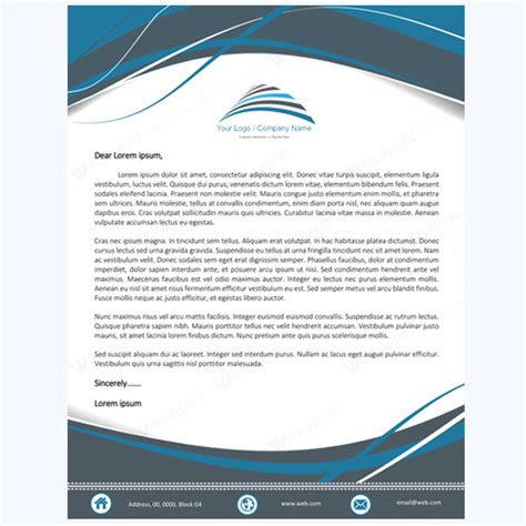 5 letterhead word templates best for any business