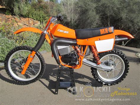 restored vintage motocross bikes for sale 1981 can am mx6 250b vintage motocross dirt bike