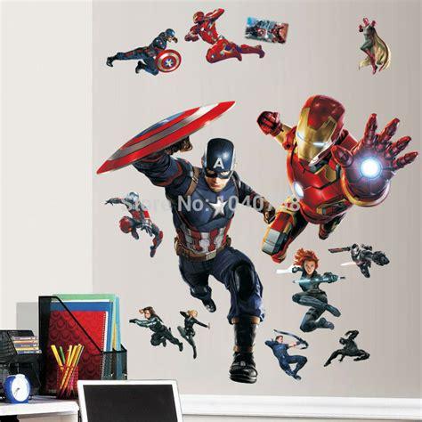 Pulpen Gel Avenger Eselon 703 civil war 3d wall stickers
