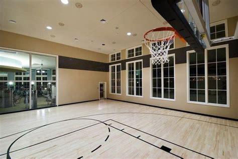Apartments In Orlando With Indoor Basketball Courts Basketball Court Inside House Indoor Basketball Half