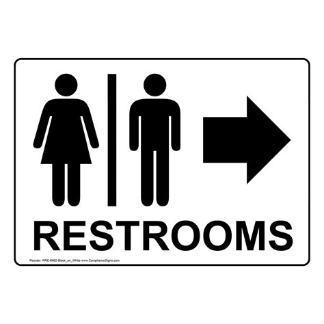 bathroom signs amazon