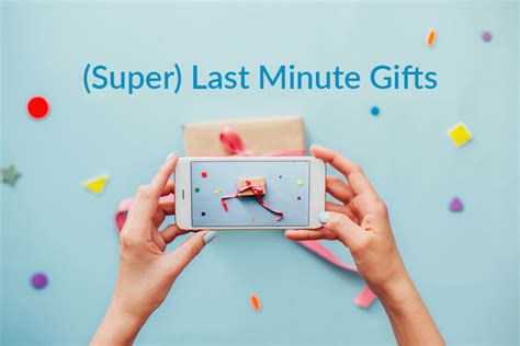 last minute gift ideas for 5 last minute gift ideas for the person who has