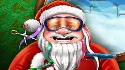 haircut games santa santa s real haircuts awesome christmas games for kids