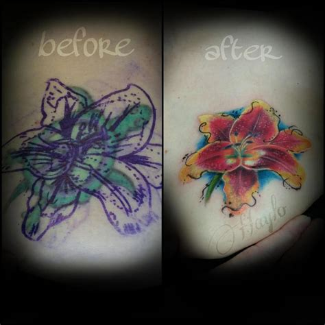 watercolor tattoo cover ups aged turtle cover up with watercolor and realist