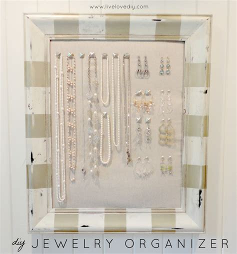 how to make your own jewelry organizer livelovediy 10 spray paint tips what you never knew