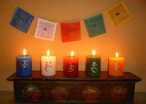 Decoration Pour Bougie by D 233 Corations De Bougies Style Tib 233 Tain Avec D 233 Calcomanies 224