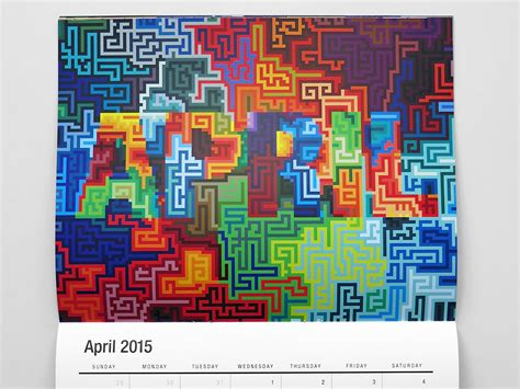 typography 2015 calendar mwm graphics 2015 wall calendar