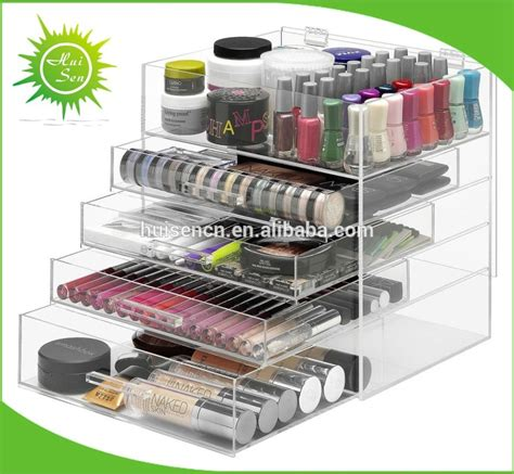 Makeup Drawers by Large Acrylic Makeup Organizer With Drawers Cosmetic