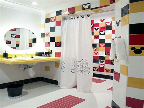 mickey mouse bathroom ideas bathroom d 233 cor ideas for small bathroom trellischicago