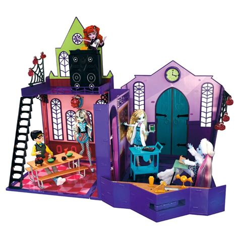 monster high school house monster high high school playset on lovekidszone lovekidszone