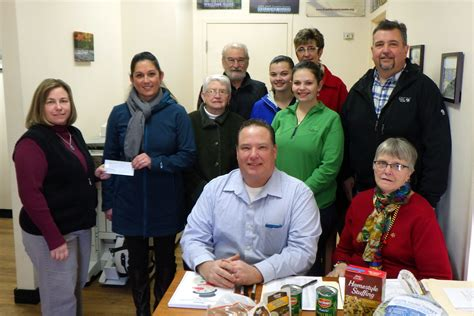 Franklin County Food Pantry by Chamber Distributes Food Baskets Funds For Food