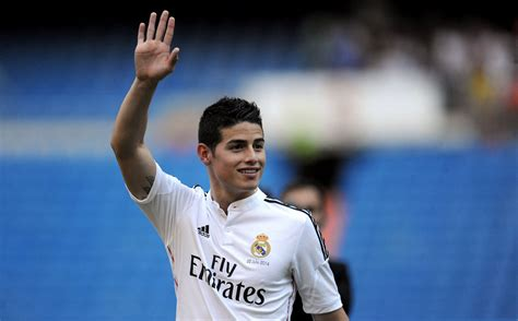 Real Madrid Rodriguez rodr 237 guez is presented as real madrid s new number 10
