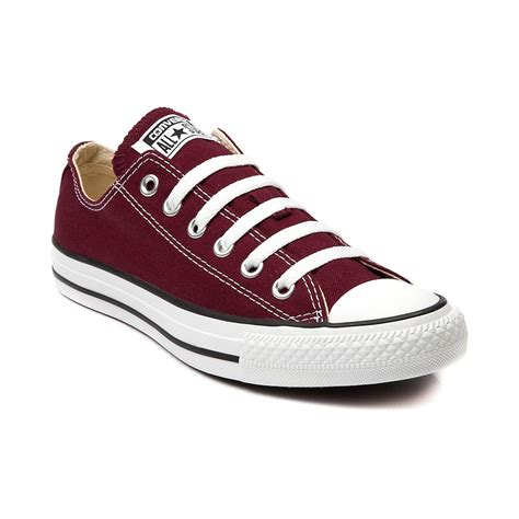 journey sneakers converse all lo sneaker maroon journeys shoes