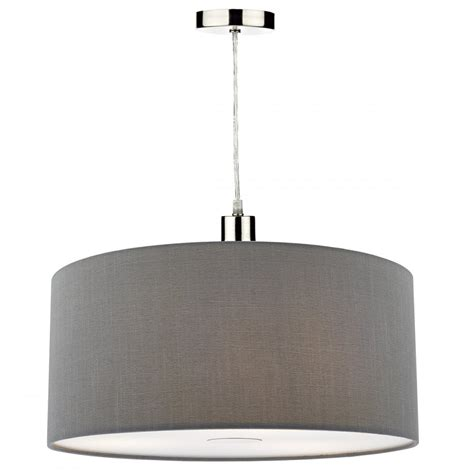 small grey l shades contemporary small grey faux silk easy fit pendant shade