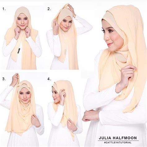 tutorial hijab chiffon this is a cute and girly wrap with a flowing touch all