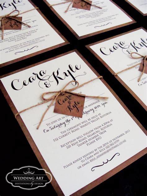 rustic wedding invitation companies rustic wedding invitations felt