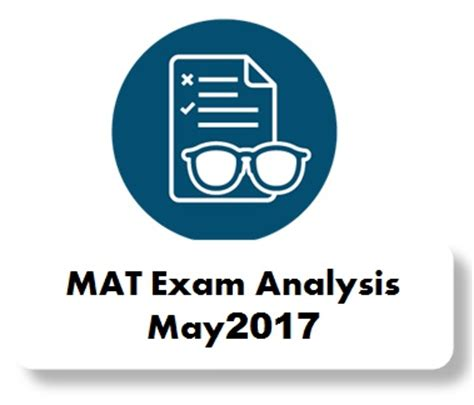 Mat Analysis by Analysis Of Mat May 2017